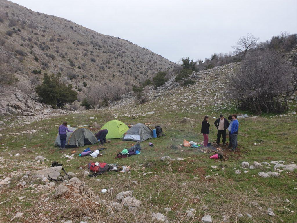 mount Hermon campsite