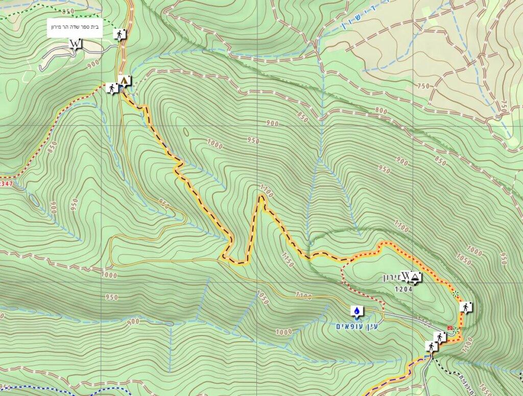 Mount Meron Hiking