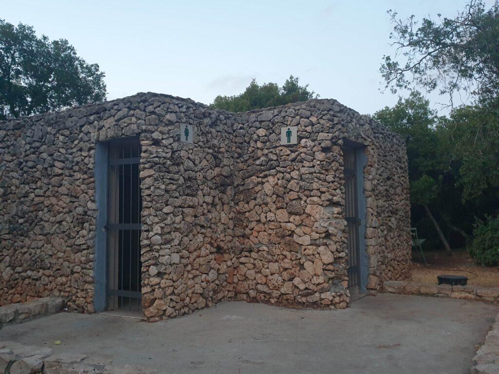 Toilets Rakit campground