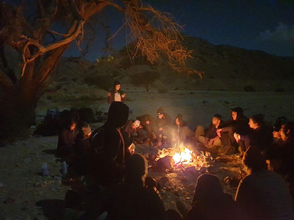 Campfire Shaharut Ascent