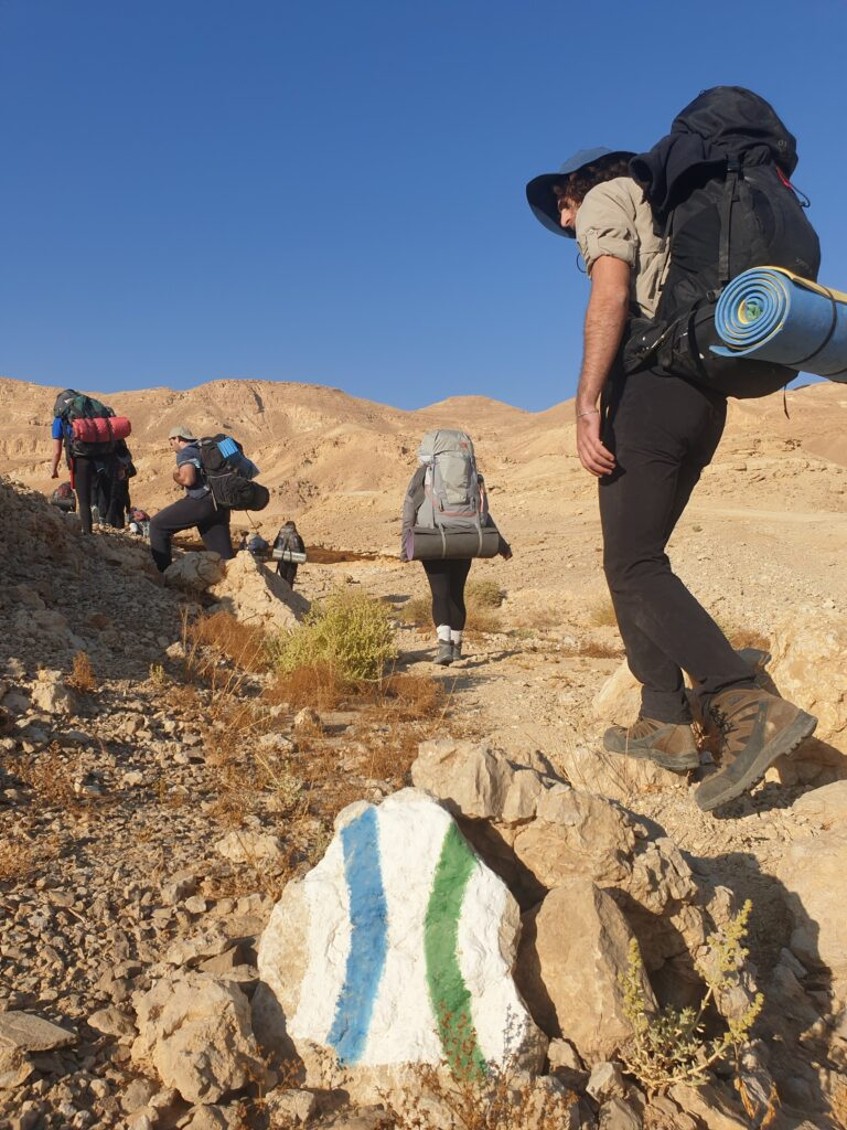 Shaharut Ascent Hiking