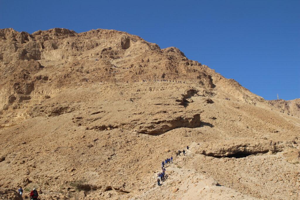 Masada snake trail