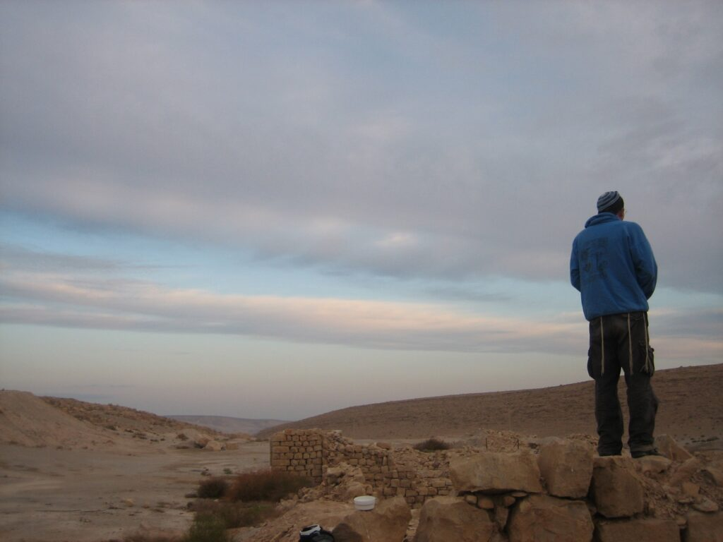 Meizat Tamar Free camping in Israel