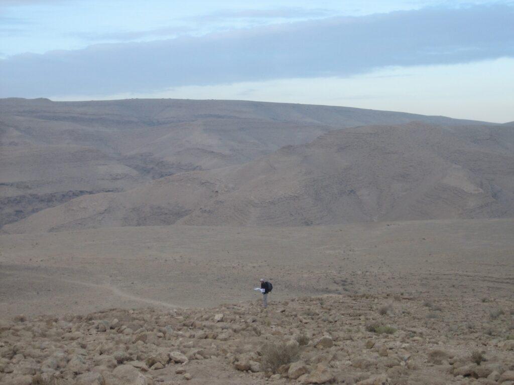 Way to Wadi Tzafit